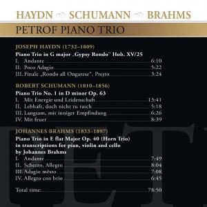 CD 1 Haydn Schumann Brahms zadni strana