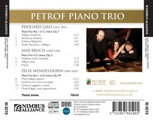 CD 3 Lalo Bruch Mendelssohn zadni strana